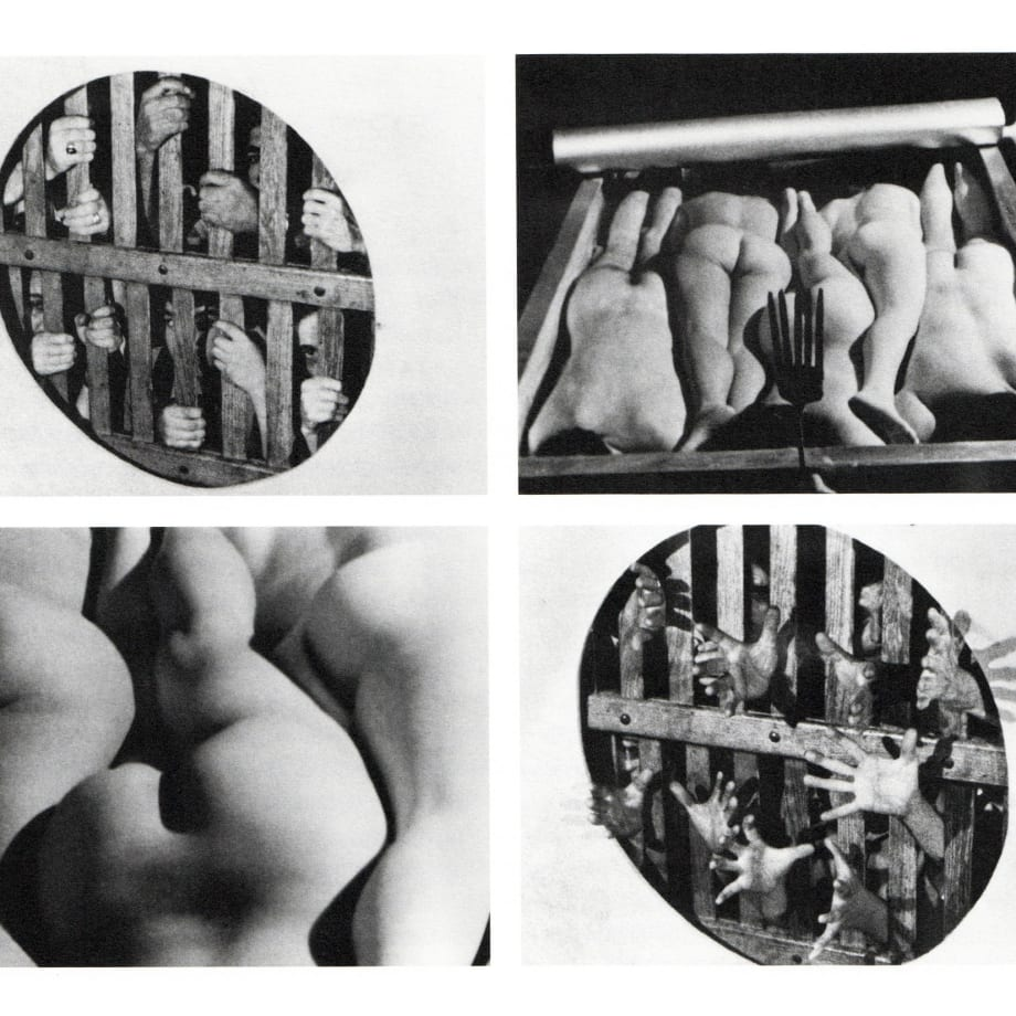 Sorel Etrog, Spiral, Video still, 1974