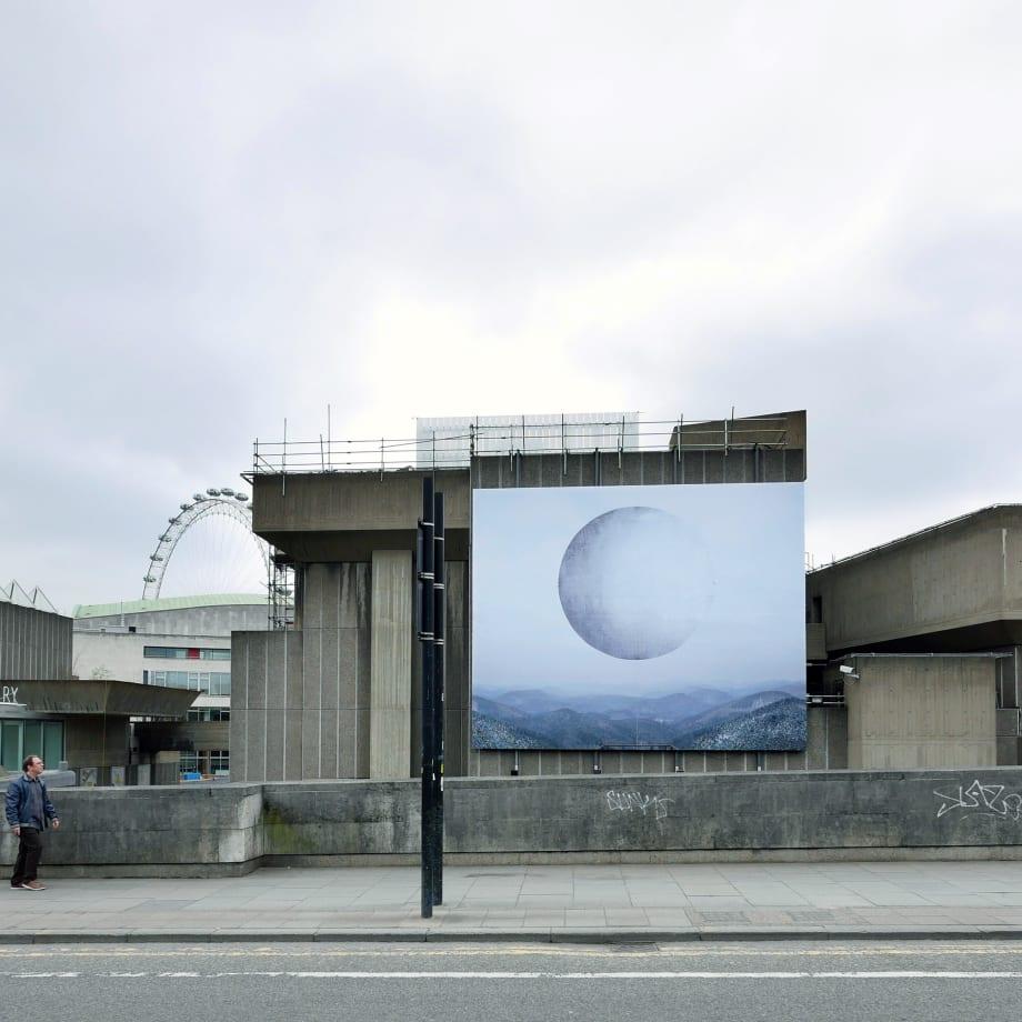 Noémie Goudal, Station II, installation view, Hayward Gallery, London, UK, 2017