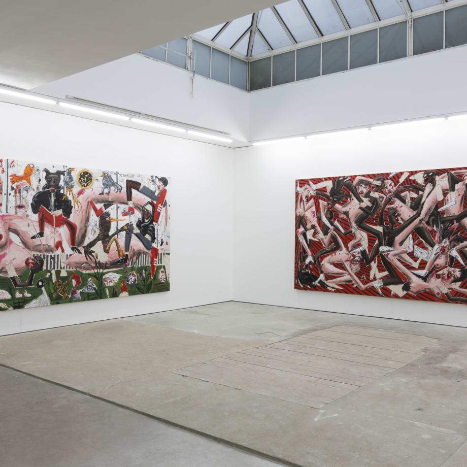 Dale Lewis, Fat, Sugar, Salt, installation view, Edel Assanti, London, UK, 2018