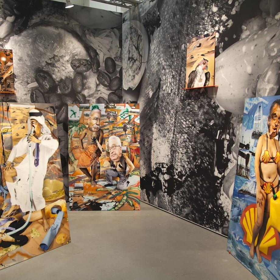 Sheida Soleimani, Medium of Exchange, installation view, NADA, New York, USA, 2018