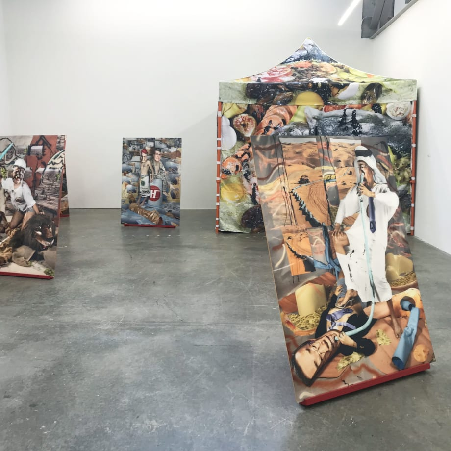 Sheida Soleimani, Medium of Exchange, installation view, Atlanta Contemporary Art Centre, Atlanta, Georgia, USA, 2018