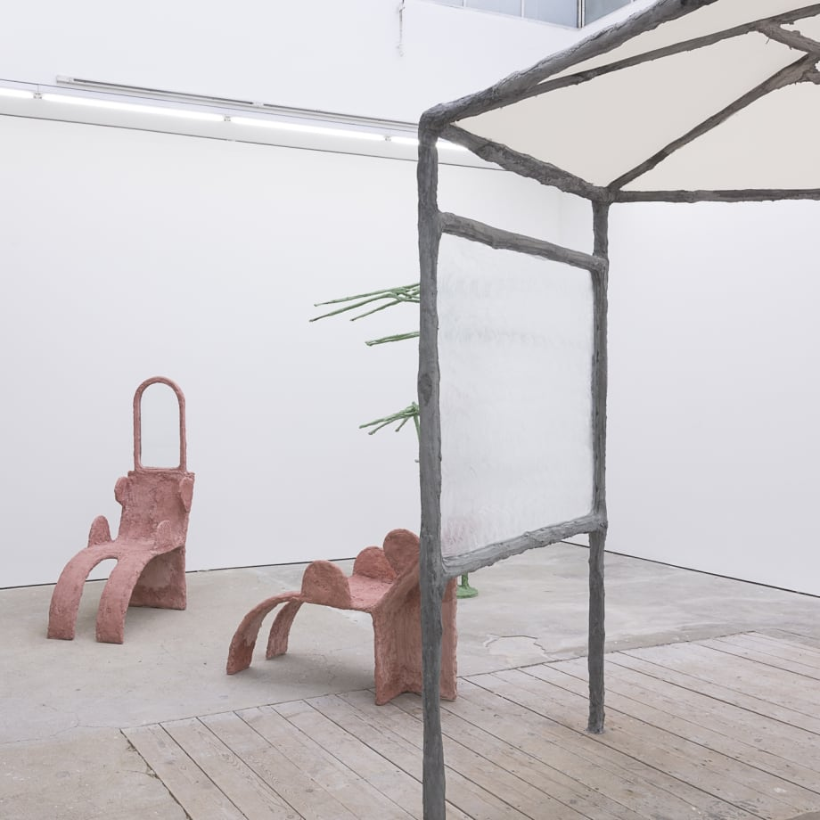 Oren Pinhassi, Second Nature, installation view, Edel Assanti, London, UK, 2018