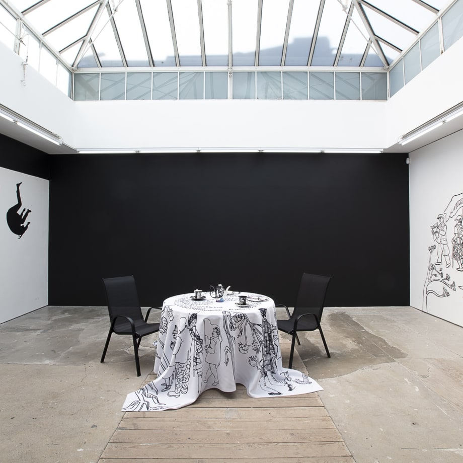 Victoria Lomasko, Separated World, 1029 installation view, Edel Assanti, London, UK