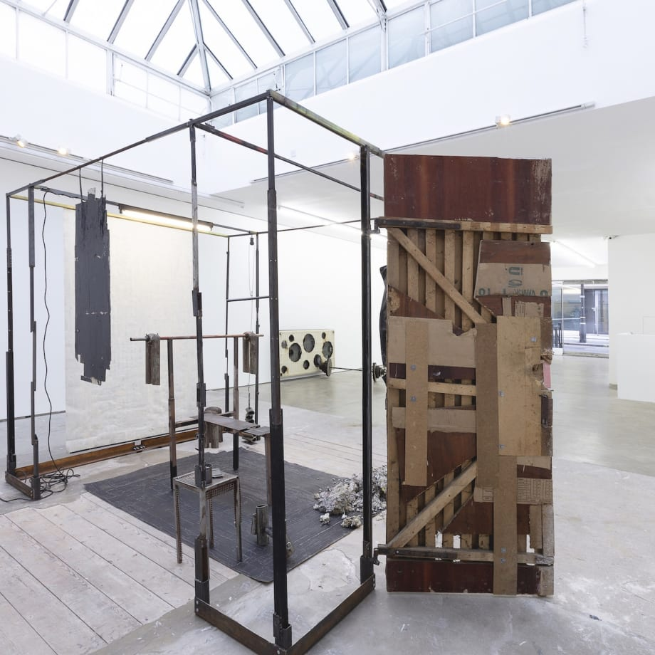 Marcin Dudek, Akumulator, installation view, Edel Assanti, London, UK, 2019