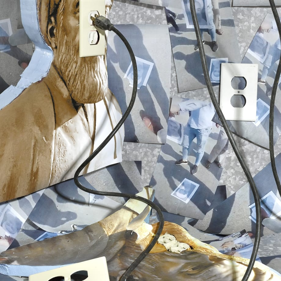 Sheida Soleimani, Unplugged, 2020, archival pigment print, 101.6 x 76.2 cm