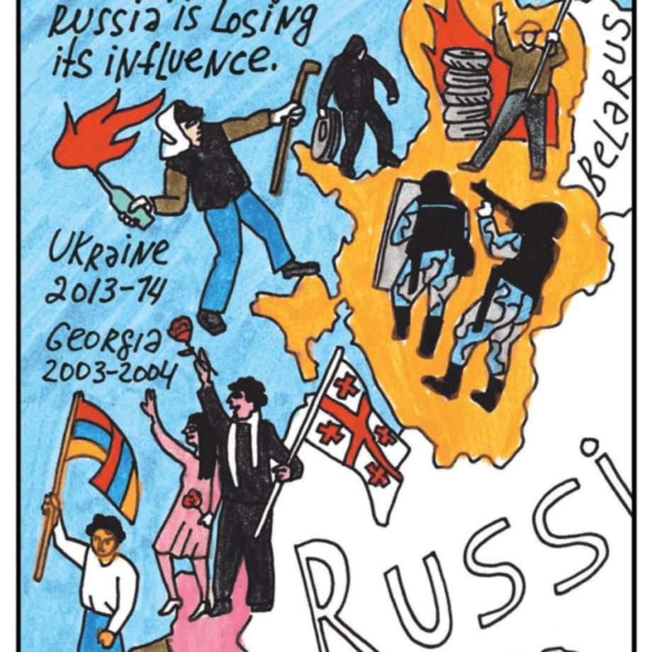 Victoria Lomasko, A Revoltuion in Belarus, 2020 (image 1 of 20)