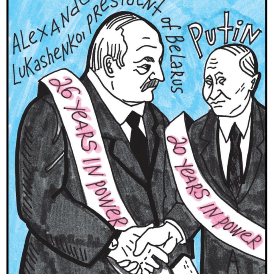 Victoria Lomasko, A Revoltuion in Belarus, 2020 (image 2 of 20)