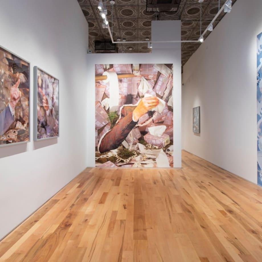 Sheida Soleimani, Hotbed, installation view, 2020