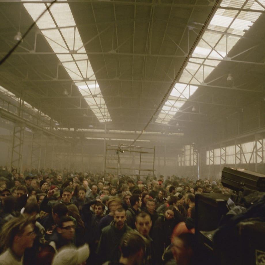 Vinca Petersen, Warehouse Rave, France, 2001