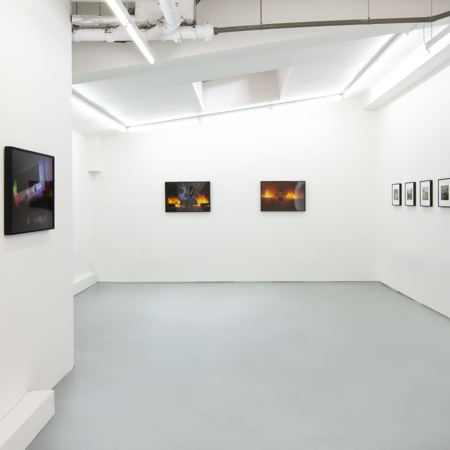 Vinca Petersen, Raves and Riots, installation view, Edel Assanti, London UK, 2021