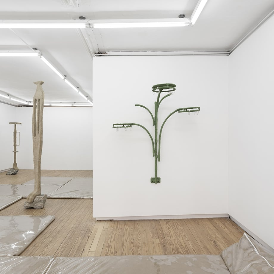 Oren Pinhassi, Lone and Level, installation view, Helena Anrather, New York NY, 2021