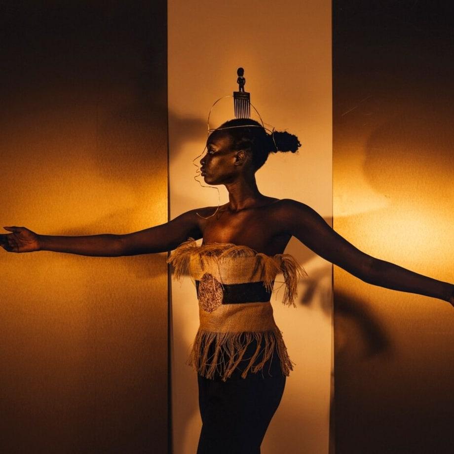 DJENEBA ADUAYOM, BLACK GOLD # 5, 2018