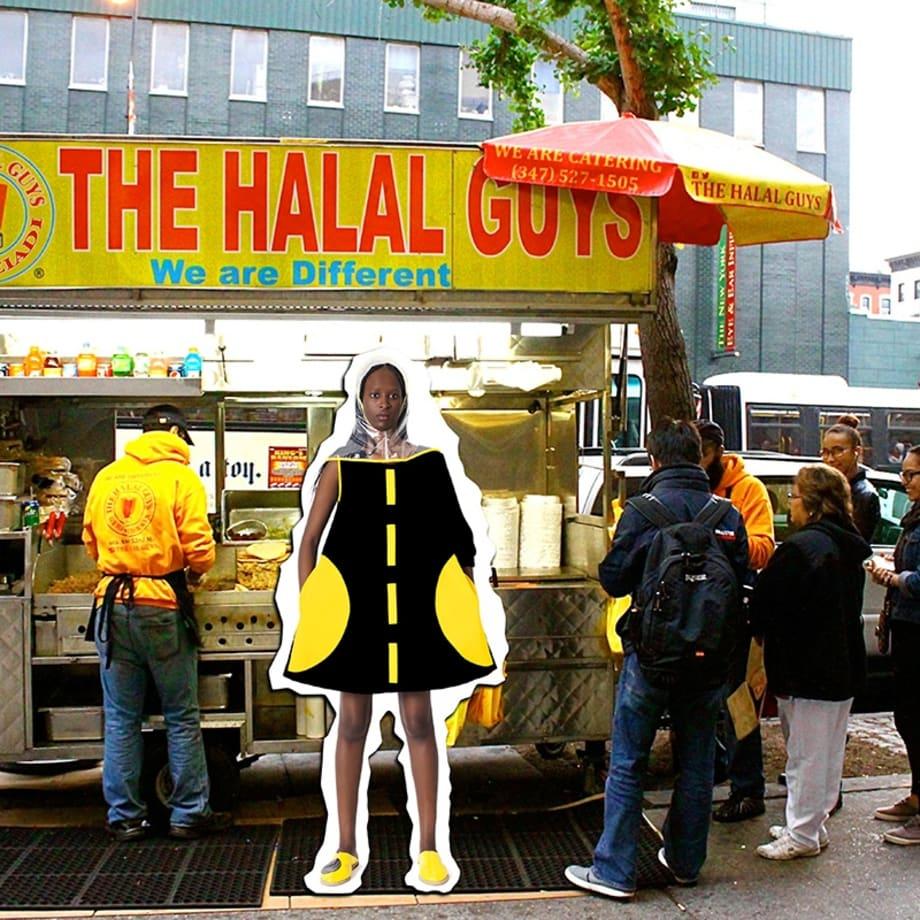 SAMIA ZIADI, The Halal Guys, 2017