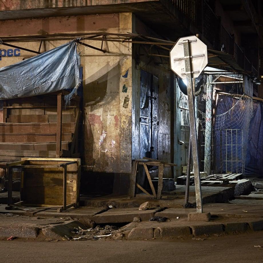 "<span class=""artist""><strong>HÉCTOR MEDIAVILLA</strong></span>, <span class=""title""><em>SORRY WE'RE CLOSED  # 1 - Grand Marché De Bamako</em>, 2017</span>"