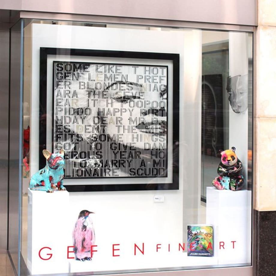 "Gefen Fine Art is thrilled to announce the arrival of new sculptures by Parisian artist, Julien Marinetti. His unique bronze sculptures feature Doggy John the bulldog, Ba the panda, Teddy Bears and Penguins, all with an impeccable porcelain-like lacquered finish and an explosion of colors, enhanced by engravings with inlayed gold leaf. Marinetti was profoundly affected by those whom he considers his masters, and still proudly claims his links with Picasso, Matisse, Léger, Moore and Bacon. Marinetti describes his inspiration by saying, ""The artist has an advantage with sculpture; he can physically move around the work as it emerges. The exercise also taught me that a painting is not bi-dimensional, but trim-dimensional in its composition. Picasso worked this way during one period, when he painted his sculptures. He left sculpture to return to painting. My work has followed a similar process."" @julienmarinetti #gefenfineart #sanfrancisco #popart #nouveau #pop #fineart #fineartgallery #contemporary #contemporaryart #contemporarygallery #popartist #frenchartist #paris #julienmarinetti #bronze #bronzesculpture #doggyjohn #frenchie #frenchbulldog #bronzeart #handpainted #boldart #picasso #patrickrubinstein"