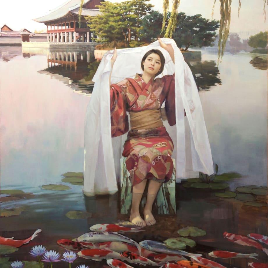 Koi | 2018 | Oil on Canvas | 162 x 130 cm (63.5 x 51 in)