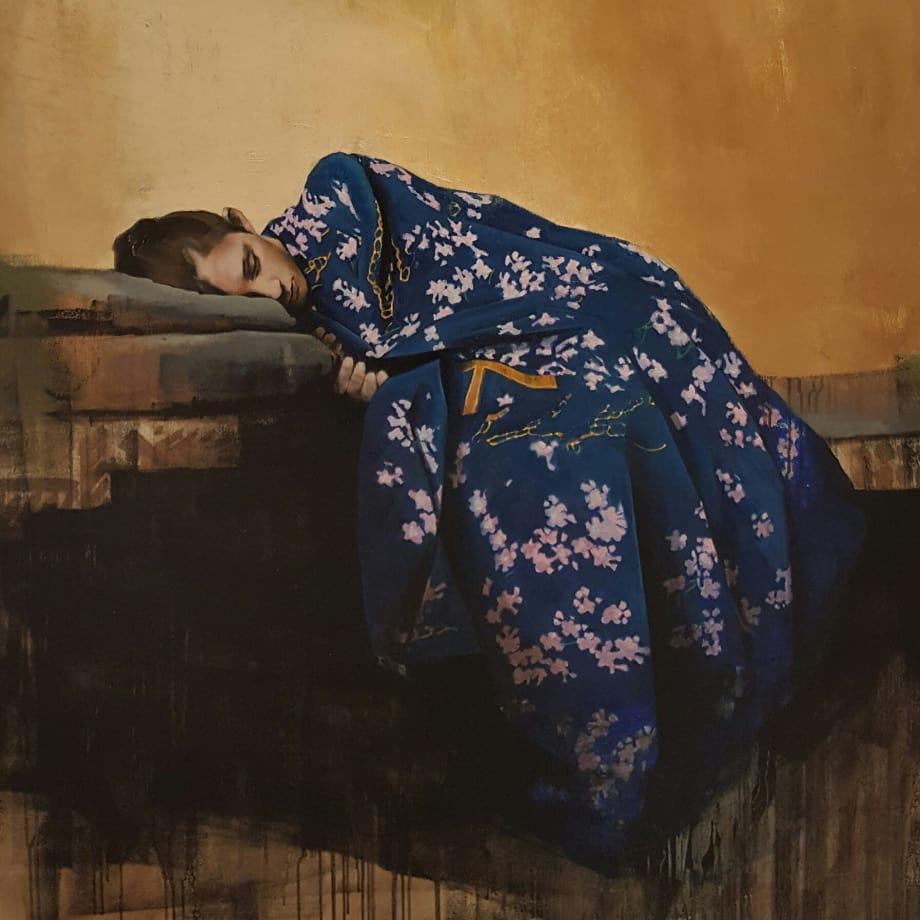 Kimono | 2016 | Oil on Canvas | 120 x 100 cm (47 x 39 in)