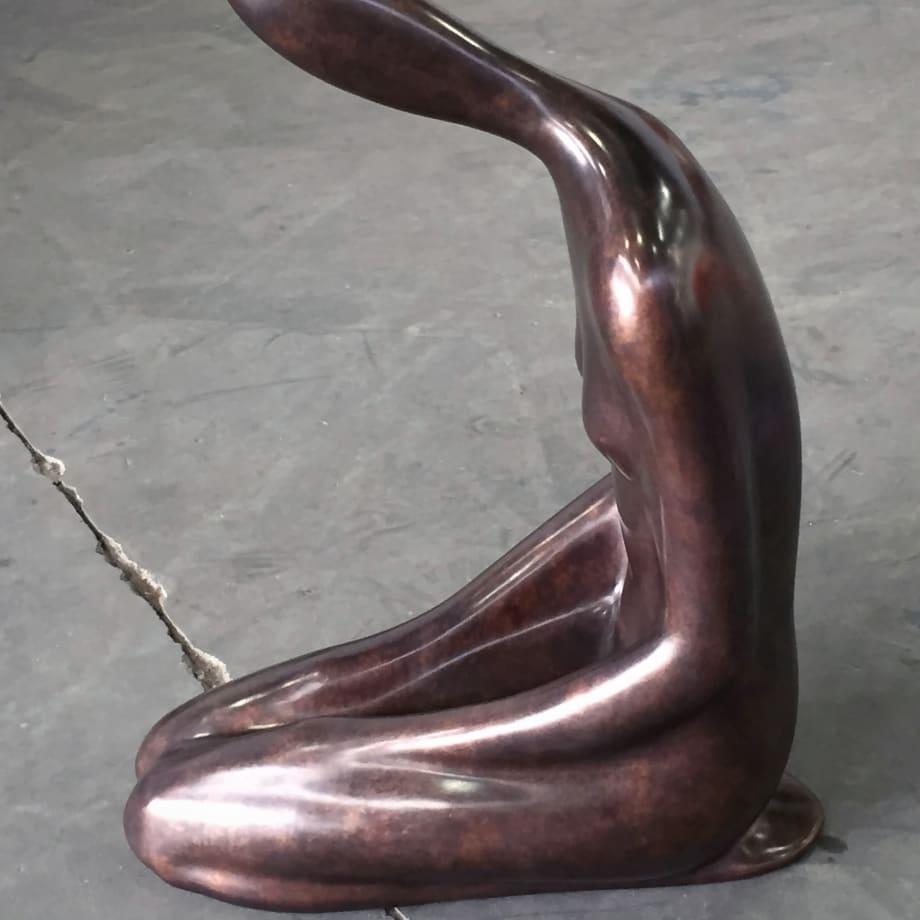 Gullfoss   2015   Bronze   97 x 38 x 71 cm (38 x 15 x 28 in)