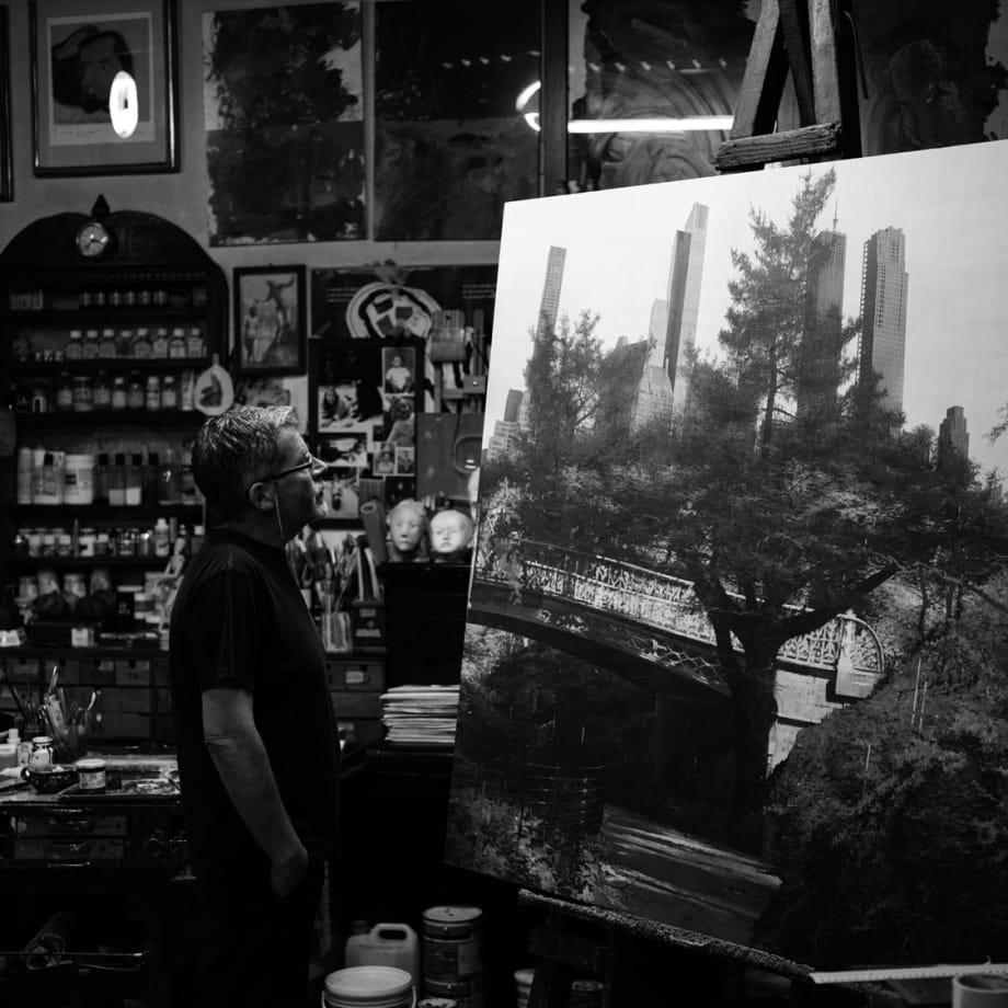Matteo Massagrande in his studio.