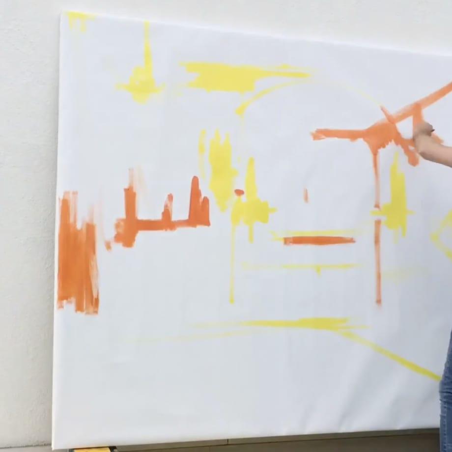 Fabio Bianco in his studio.