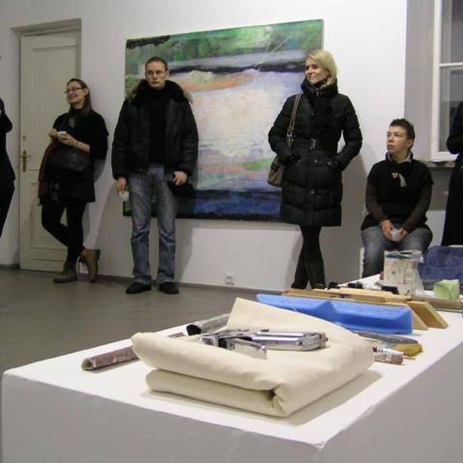 Artist Indrė Ercmonaitė. Curator Jolanta Marcišauskytė-Jurašienė Thursday review 26 01 2012
