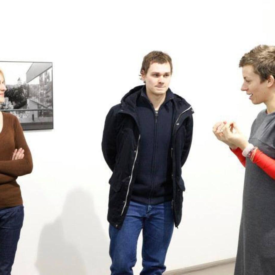 Artist Arnas Anskaitis. Curator Jolanta Marcišauskytė-Jurašienė Thursday review 16 02 2012