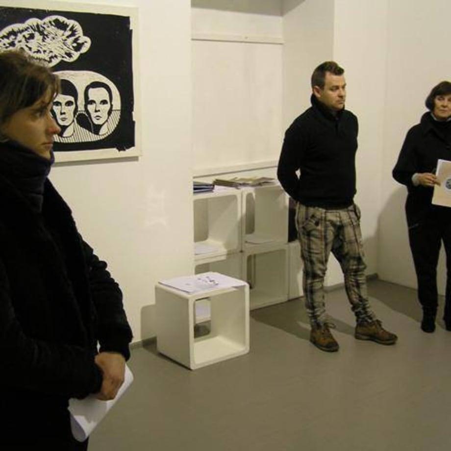 Artist Tadas Gritėnas. Curator Eglė Juocevičiūtė Thursday review 19 01 2012