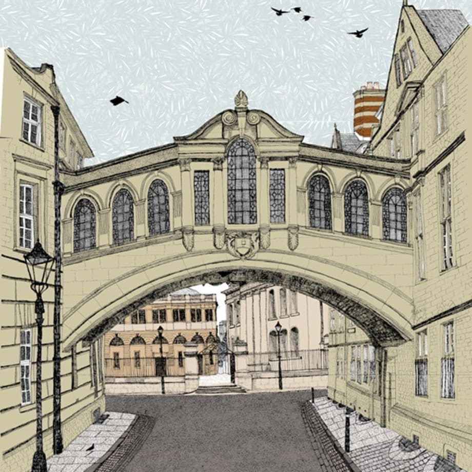 Clare Halifax, Bridge of Sighs, Oxford, 2019