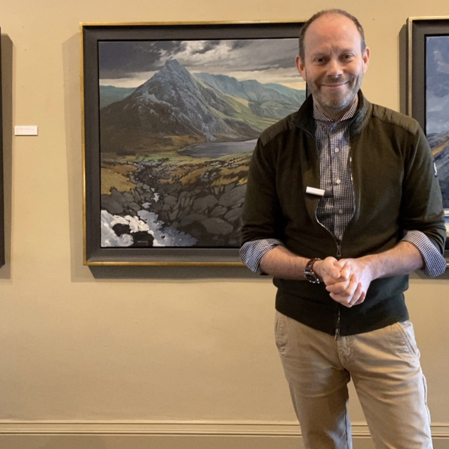 Ralph gives you a tour of our latest exhibition - Colin See-Paynton, Chris Neale & Carl Chapple., Please click the...