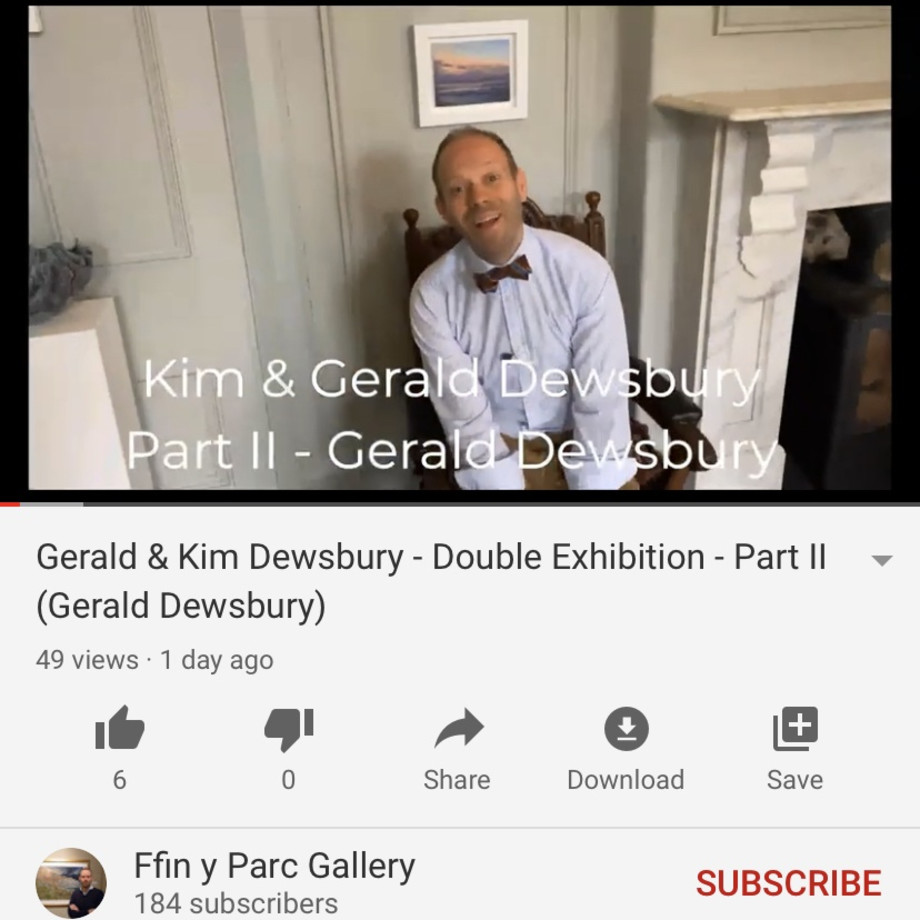 Ralph Gives you a Virtual Tour of Gerald Dewsbury's new exhibition