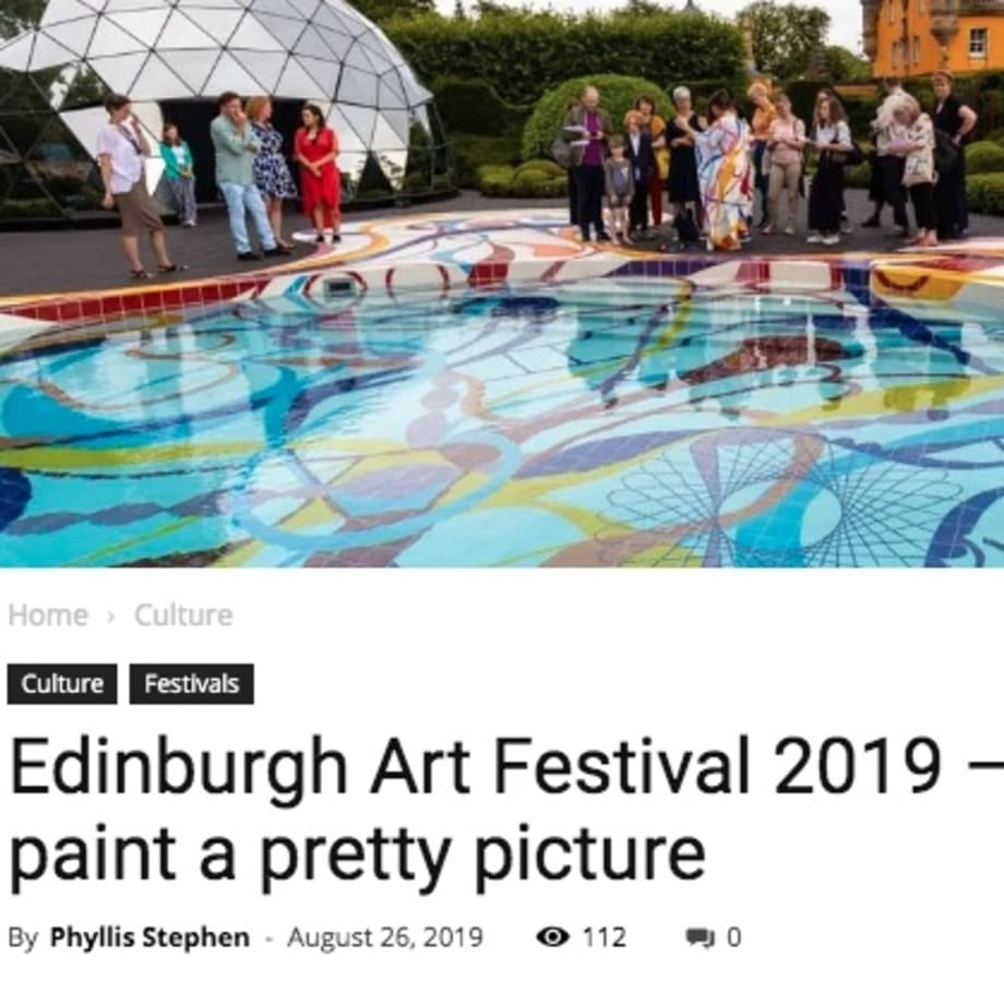Edinburgh Art Festival 2019 – the numbers paint a pretty picture