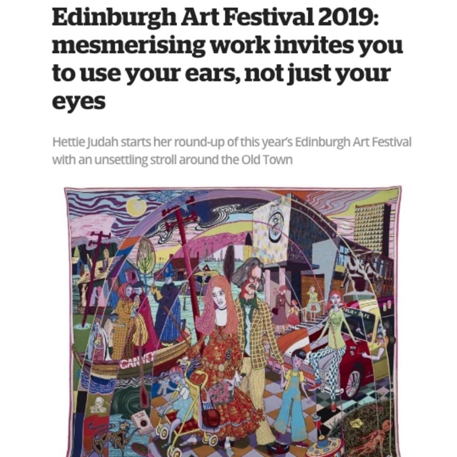 Edinburgh Art Festival 2019: mesmerising work invites you to use your ears, not just your eyes
