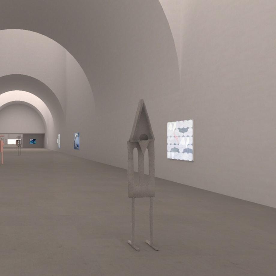 Oren Pinhassi, AORA:III, installation view, 2021