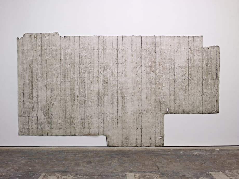 (First) Second Floor, 2013 Silicone Rubber 250 x 440 cm 98 3/8 x 173 1/4 in
