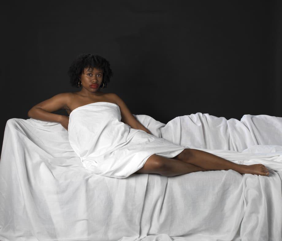 Tayo Adekunle Reclining Venus, 2019 Pearl inkjet print 98.2 x 118.8 cm 38 5/8 x 46 3/4 in Edition of 10