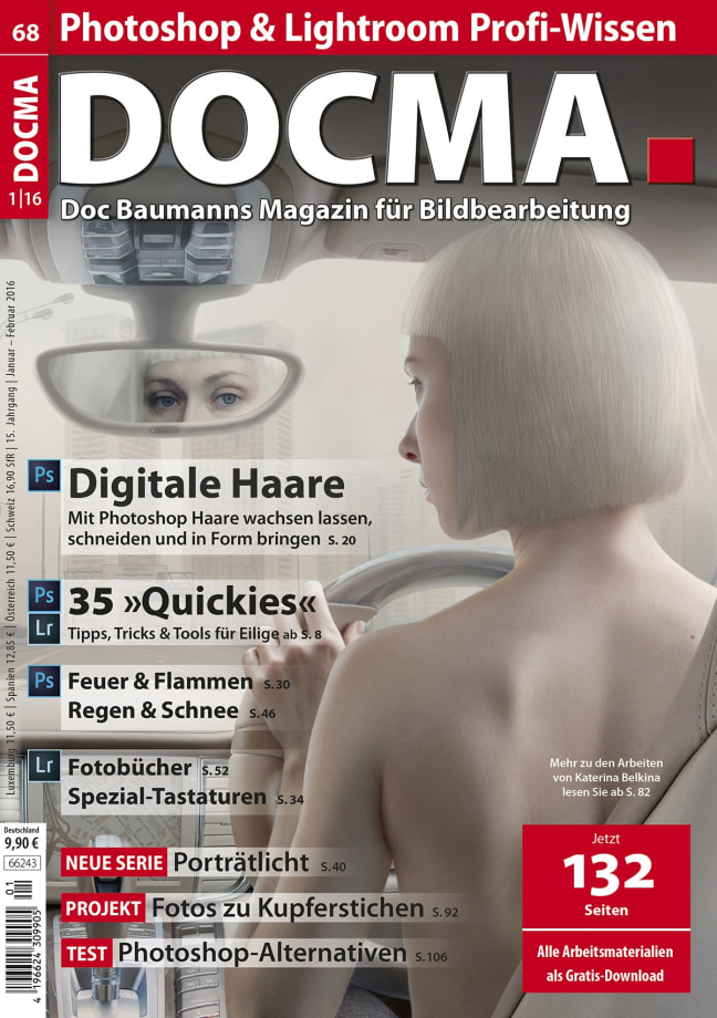 Cover DOCMA Magazine, Artwork: