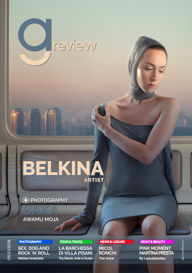 Cover, artwork: Metro by Katerina Belkina
