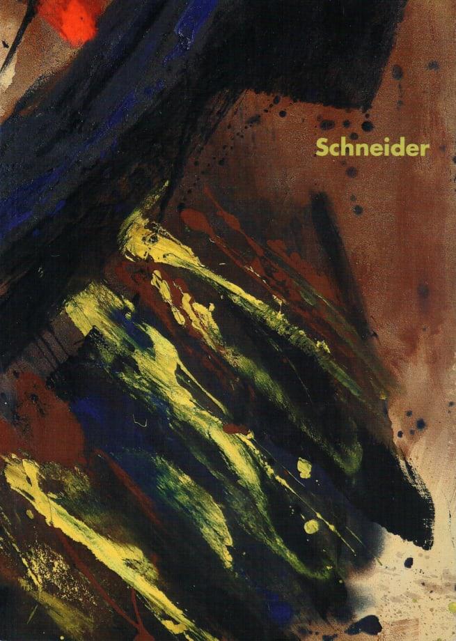 Gérard Schneider Abstrait lyrique