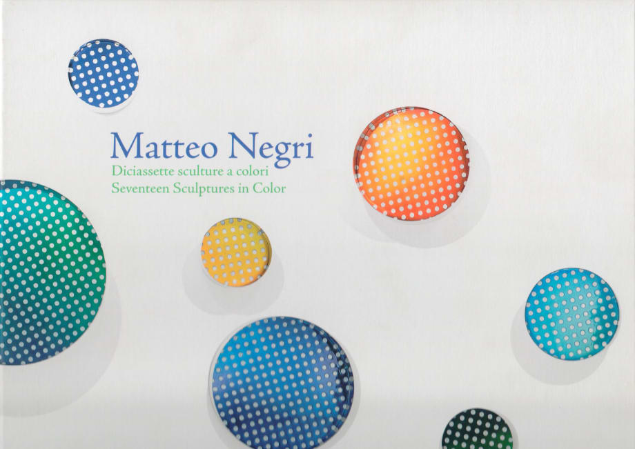Matteo Negri 17 sculture a colori