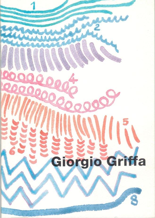 giorgio griffa come un dialogo