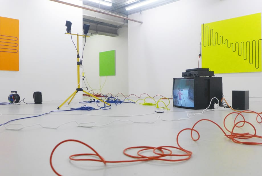 Jacob Dahlgren, Third Uncle, 2015. Installation View.