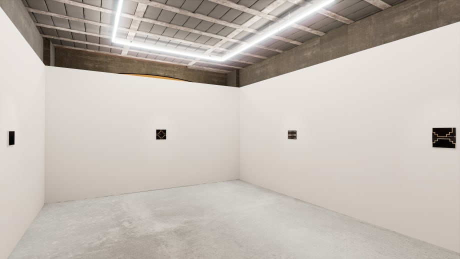Installation view - Noel Clueit: Lockedgroove