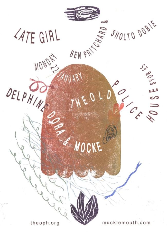 Delpine Dora & Mocke / Ben Pritchard & Sholto Dobie / Late Girl, TOPH@WORKPLACE