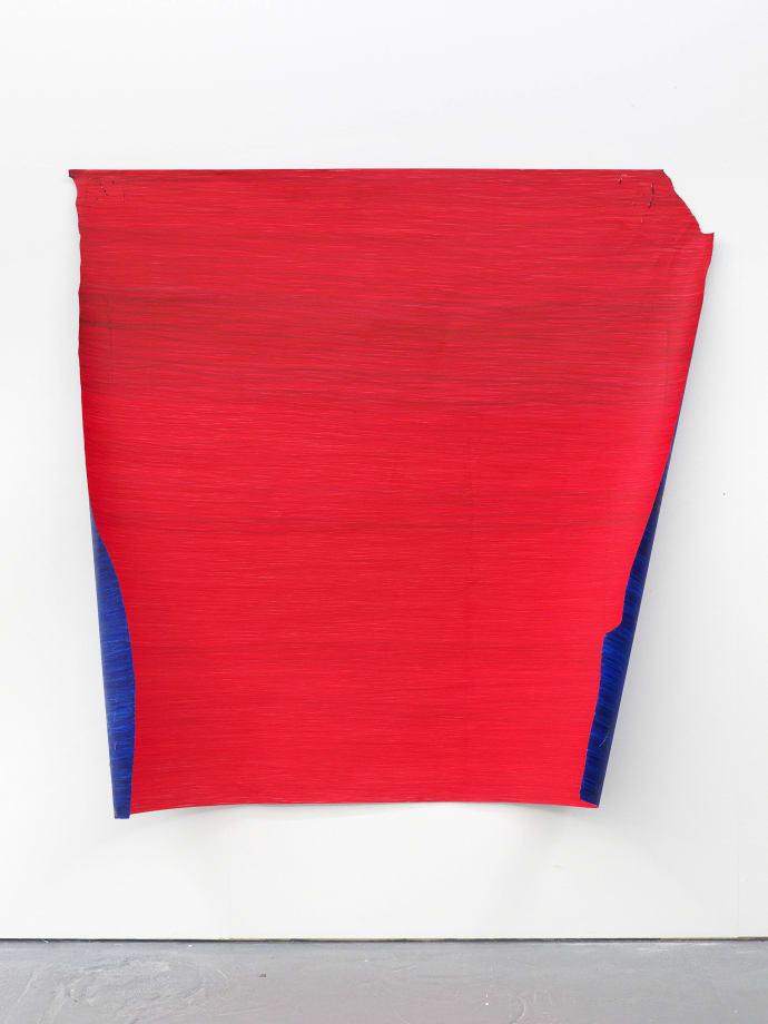 Nina Chua Marker 185, 2019 Marker pen on paper 150 x 167 cm