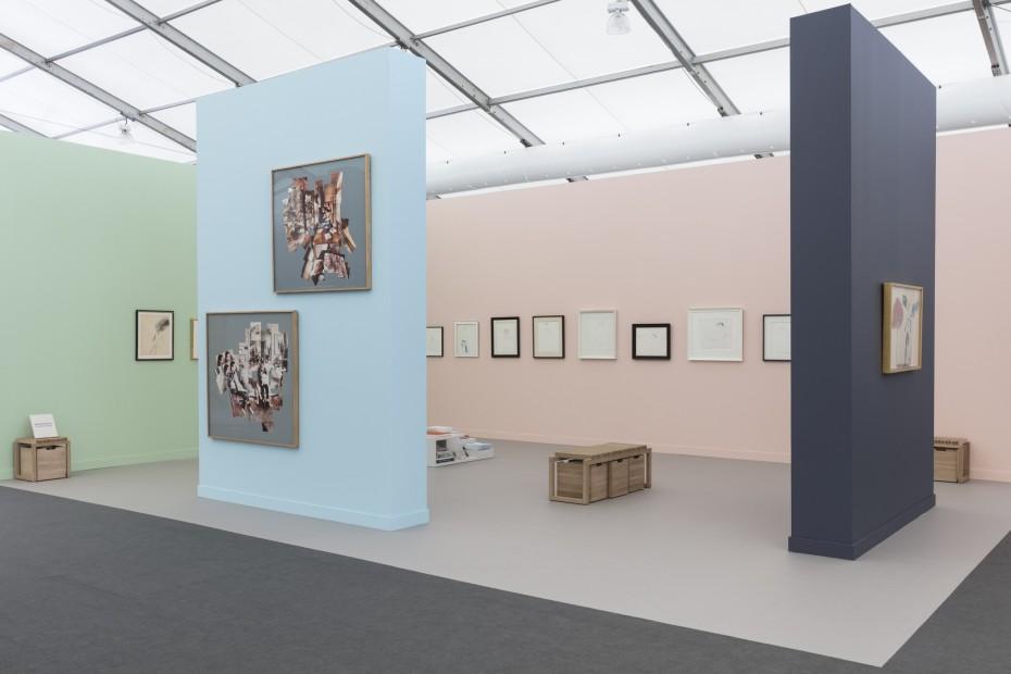 Frieze, New York, David Hockney: Early Works 1959-1983