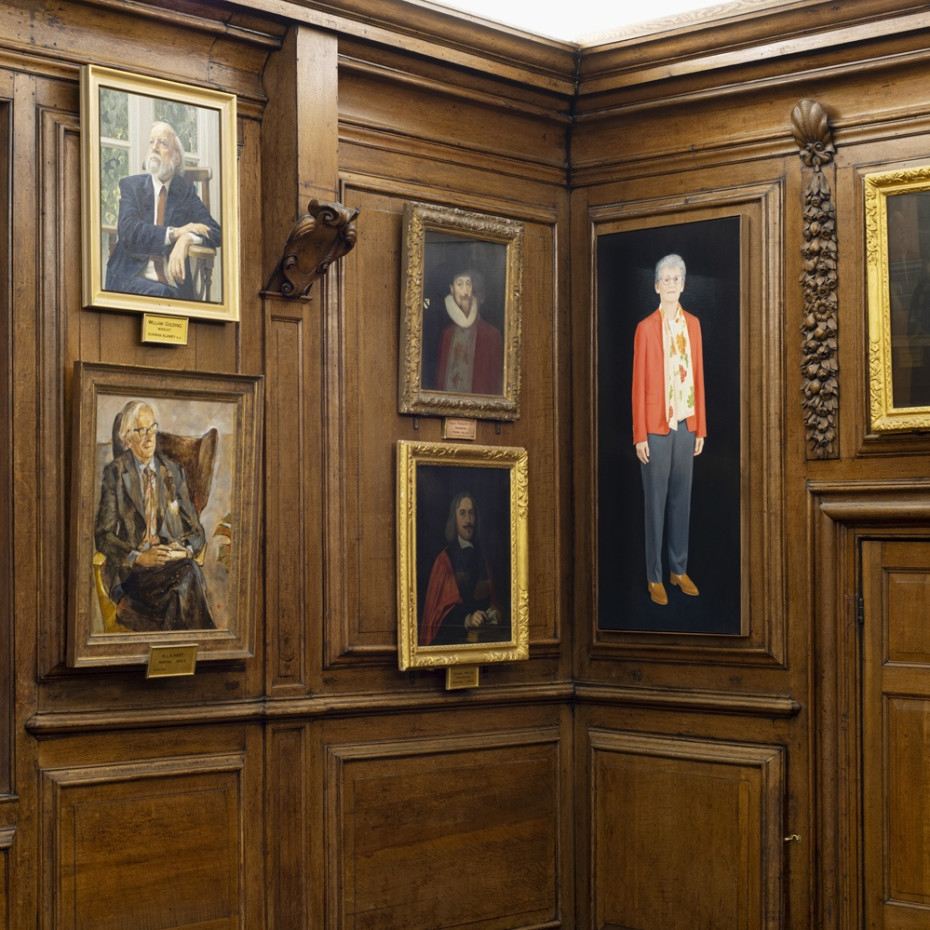 Installation views at Brasenose College, University of Oxford. © Alessandro Raho