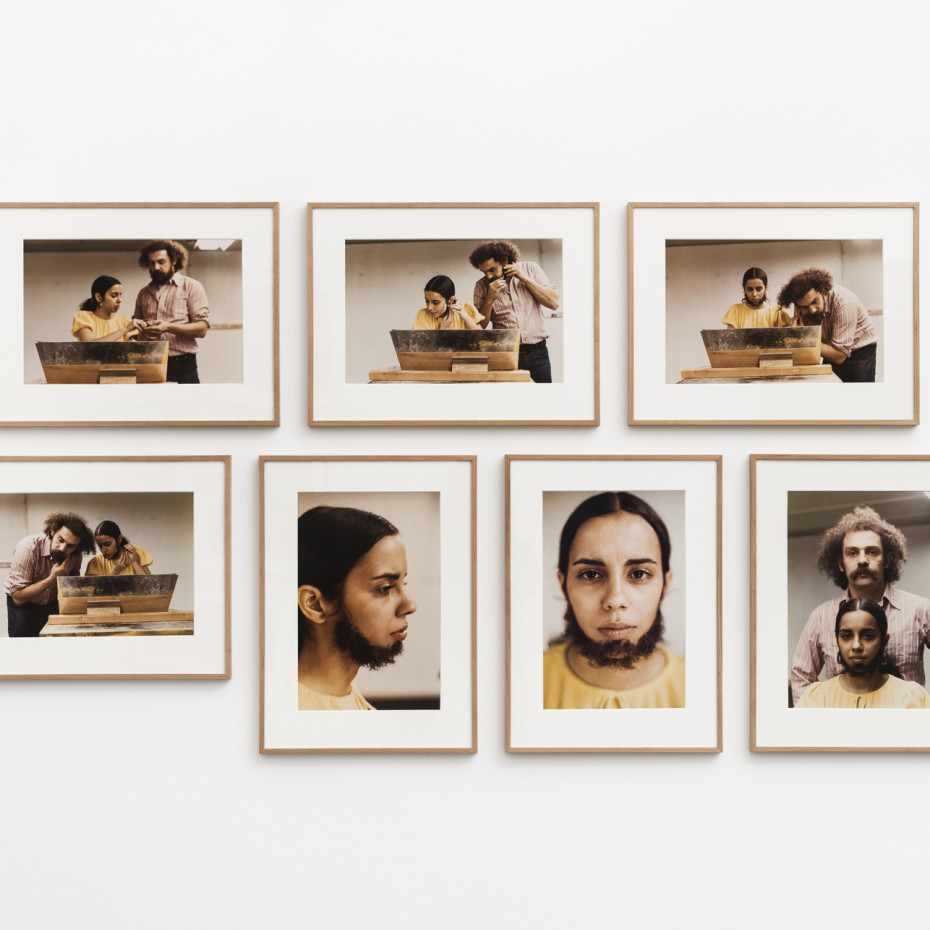 Ana Mendieta, Untitled (Facial Hair Transplants), 1972/1997. © The Estate of Ana Mendieta Collection, LLC. Licensed by Artists Rights Society...
