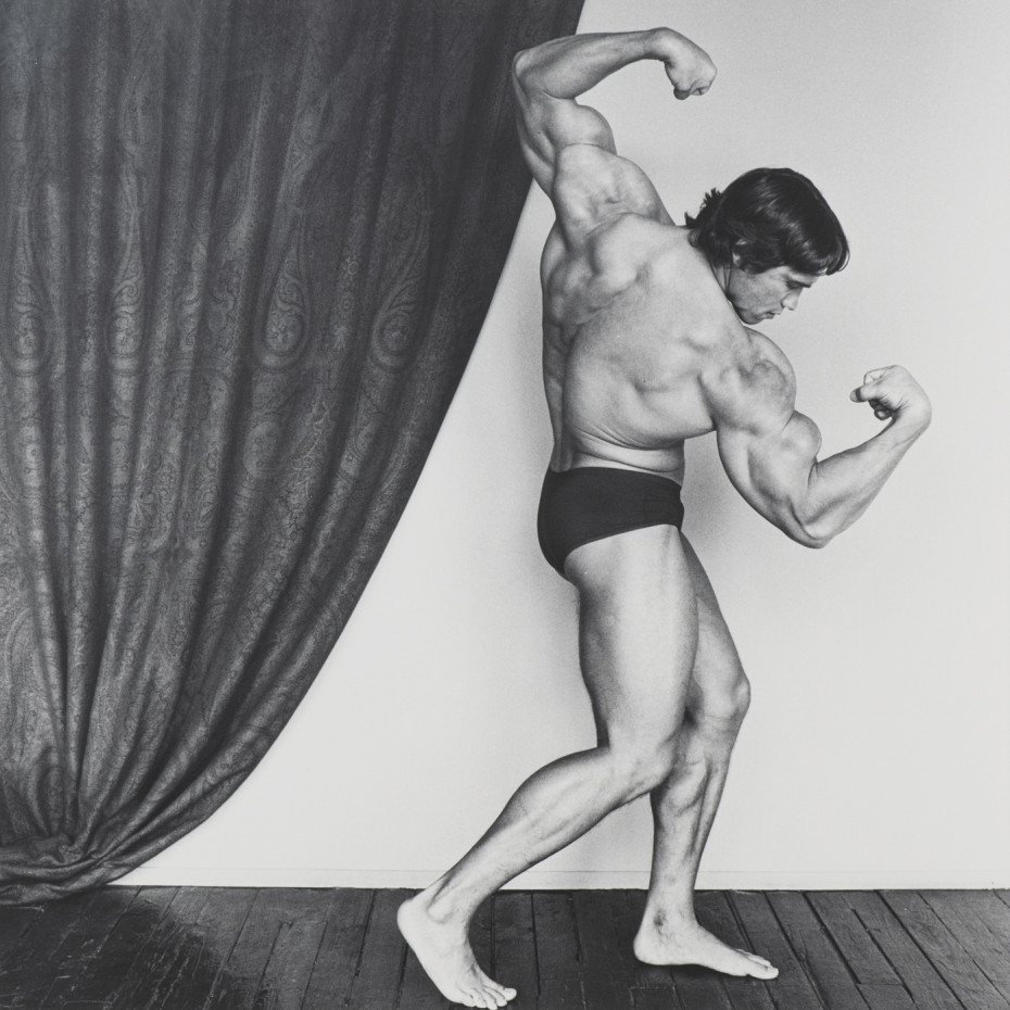 Robert Mapplethorpe, Arnold Schwarzenegger, 1976. © Robert Mapplethorpe Foundation. Used by permission