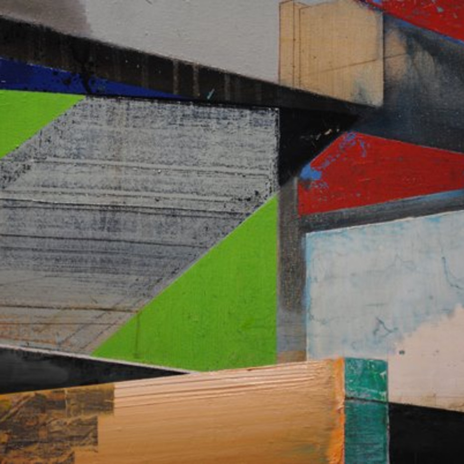 Edward Coyle: BUILD! Glitches And Ruptures Through The Architect's Eye - Review by Artlyst