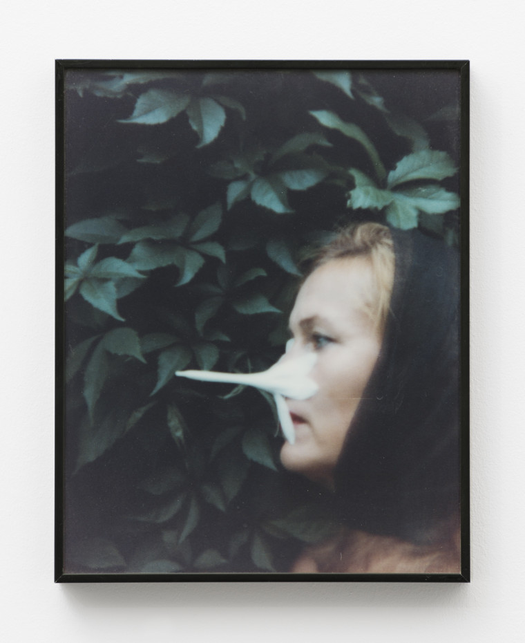 Birgit Jürgenssen  Untitled, 1995  3D colour photograph  27 x 21 cm, 10 5/8 x 8 1/4 ins  Signed & dated